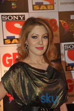Munmun Dutta Looks stunning at Sab Parivaar Awards 2014