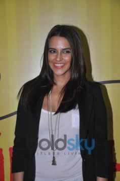 Neha Dhupia during Get Active Expo Inauguration