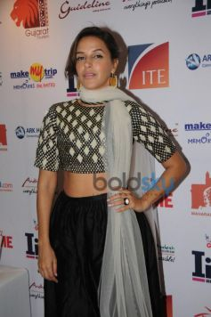 Neha Dhupia during inaugration of IITT 2014