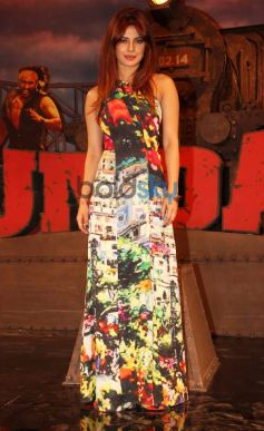 Priyanka Chopra In Jumpsuit At Gunday Music Launch