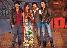 Priyanka Chopra In Jumpsuit with Gunday Movie Star  Cast
