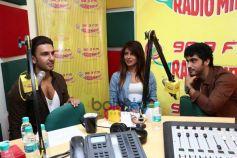 Priyanka Chopra Ranveer Singh Arjun Kapoorl at Radio Mirchi
