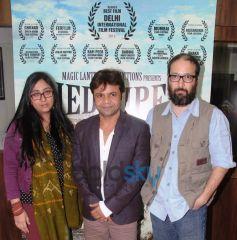Rajita Sharma, Rajpal Yadav, Vivek Budakoti at Pied Piper promotional