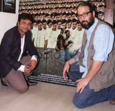 Rajpal Yadav and Vivek Budakoti at film promotional