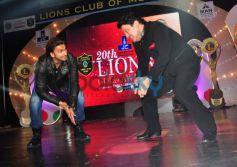 Ranveer Singh and Ali Asgari at Lion Gold Awards