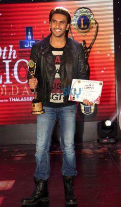 Ranveer Singh at Lion Gold Awards