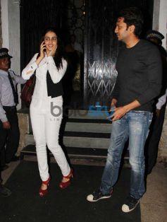Ritesh Deshmukh and Genelia snapped in Bandra