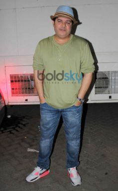Sajid Khan at Mehbob Studio