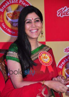 Sakshi Tanwar during Kellogg's Event