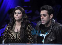 Salman Khan and Daisy Shah On The Sets Of Nach Baliye