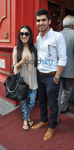 Sameer Dattani with his wife Ritika Dattani at Lost in the Woods book launch
