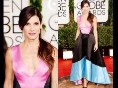 Sandra during Golden Globe Awards 2014