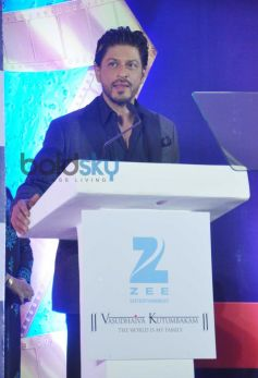 Shah Rukh Khan during press meet of Zee Cine Awards 2014