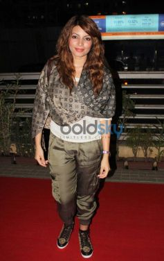Shama Sikander during the premiere of Mandela Long Walk to Freedom