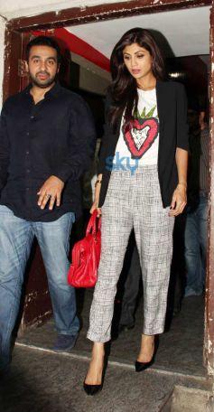 Shilpa Shetty Kundra looks Gorgeous at PVR