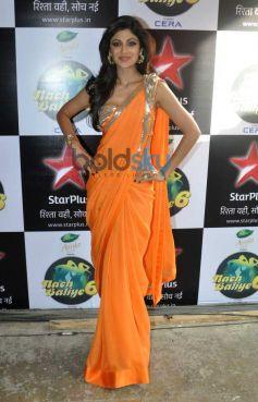 Shilpa Shetty Kundra at The Sets Of Nach Baliye