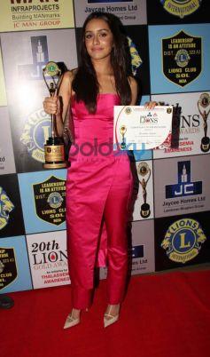 Shraddha Kapoor at Lion Gold Awards