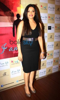 Shraddha Soni snapped during  her book launch