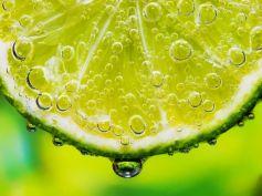 Soak hands with Lemon Water