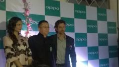 Sonam Kapoor and Hrithik Roshan at OPPO mobile launch