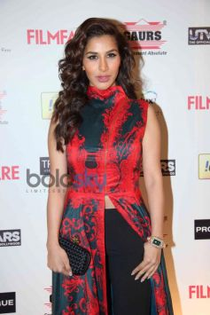 Sophie Chaudhary stuns at Filmfare Awards Nominations Party 2014