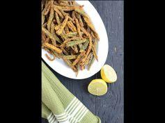 Speecial Kurkuri Bhindi Recipe