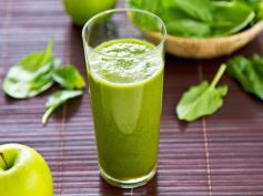 Spinach and Coconut Juice