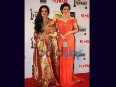 Sridevi and Rekha In 2013