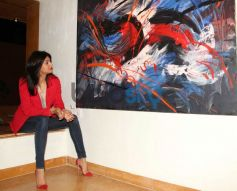 Sushmita Sen during Rouble Nagi Art Foundation