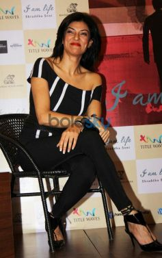 Sushmita Sen during Shraddha Soni's book launch I am Life