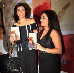 Sushmita Sen launches Shraddha Soni's book I am Life
