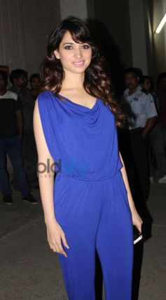 Tamanna Bhatia snapped at Mehbob Studio