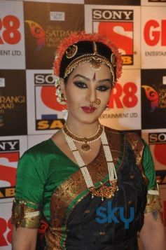Television Stars Looks stunning at Sab Parivaar Awards 2014