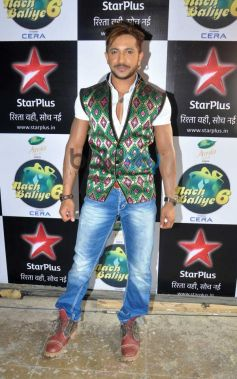 Terence Lewis at The Sets Of Nach Baliye