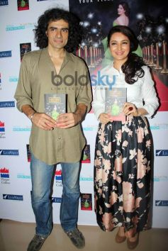 Imtiaz Ali with Tisca Chopra's ACTING SMART book launch