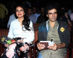 Tisca Chopra with Imtiaz Ali at book launch