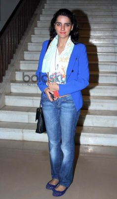 Shruti Seth at Tisca Chopra's ACTING SMART book launch