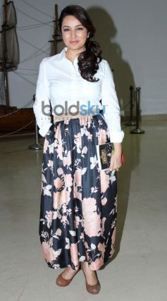 Tisca Chopra snapped at her ACTING SMART book launch