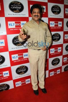 Udit Narayan during Celebration of 92.7 BIG FM's New Radio Show