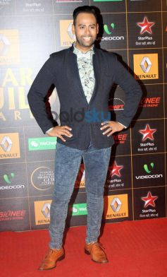 vj andy during at  Star Guild Awards