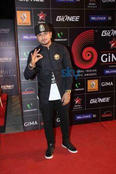 Yo Yo Honey Singh during GiMA Awards 2014