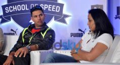 Yuvi at PUMA Relay Running Property for Students launch