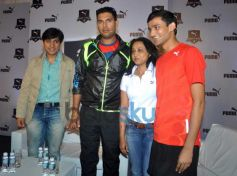 Yuvraj Singh at PUMA launch a one of a kind Relay Running Property for Students