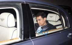 Aamir Khan during Gunday Special Screening