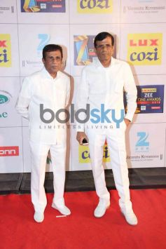 Abbas Mastan snapped during Zee Cine Awards 2014