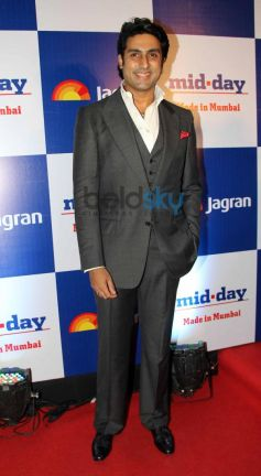 Abhishek Bacchan at Mid Day relaunch party
