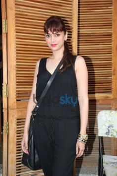 Aditi Rao Haydri during Harsh Gupta's summer collection showcase