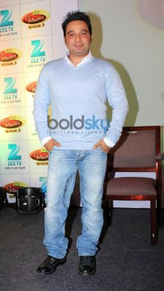 Ahmed Khan during Press Meet of zee tv's DID Liltle Masters