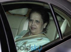 Aishwariya Rai's mother at Abhishek Bachchan 38th Birthday Bash