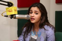 Alia Bhatt at Radio Mirchi for promotion of Highway